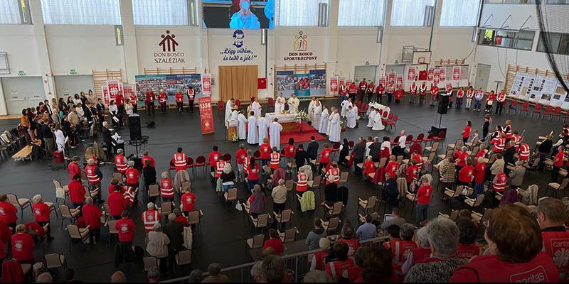 Kazincbarcika -  Érseki szentmise a Karitász évfordulóján